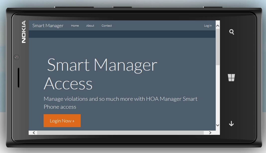 Manage with a Smart Phone